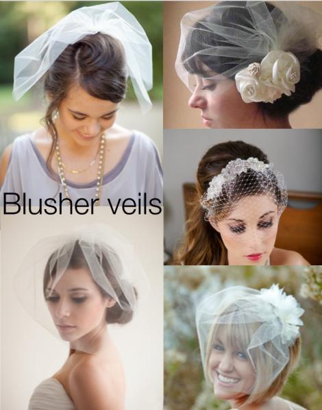 Blusher Veils