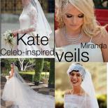 Celebrity Inspired Veils