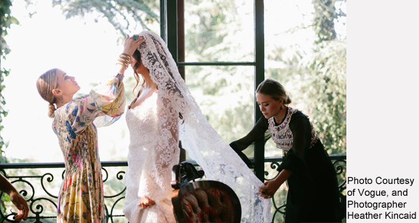 Olsen Twins Designed A Wedding Dress!