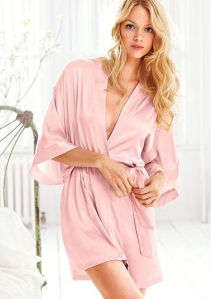 Silk Kimono wrap from Victoria's Secret