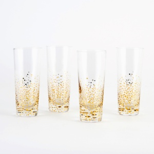 Cocktail glasses via www.brit.co