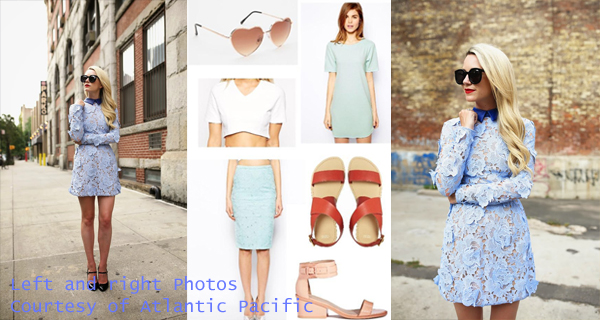 Pastels and Lace