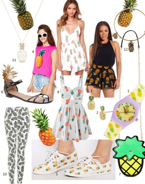 Pineapple Fashion