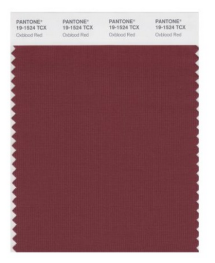 Oxblood Red Pantone