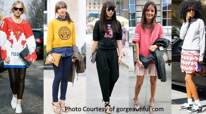 The Sporty Trend: Makes Being Fashionable Less Painful