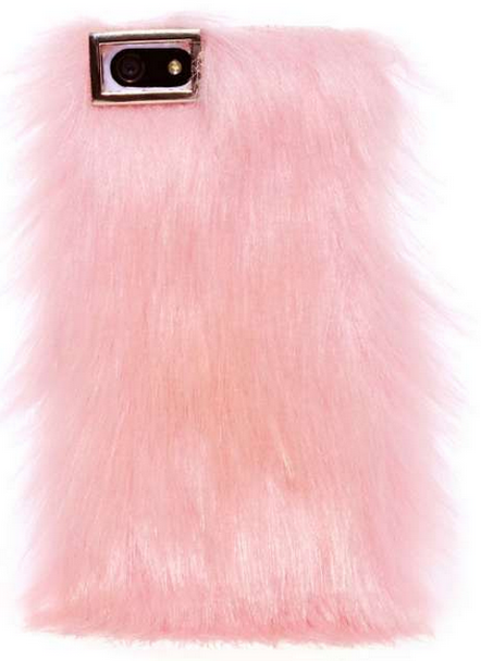 Furry iPhone case.  Courtesy of Nasty Gal.  Click to original website.