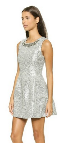 JOA Spree dress. Courtesy of Style List.  Click to original post.