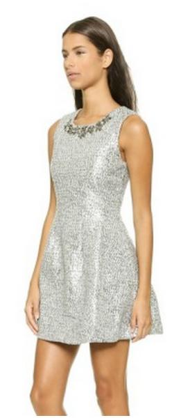 JOA Spree dress. Courtesy of Style List.  Click to original post.