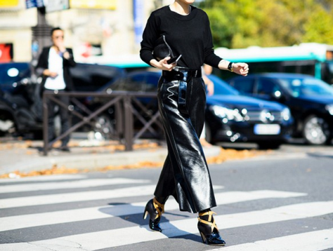 Fancy and casual basics courtesy of WhoWhatWear. Photo Cred: Adam Katz Sinding for Le 21ème. Click to original post.