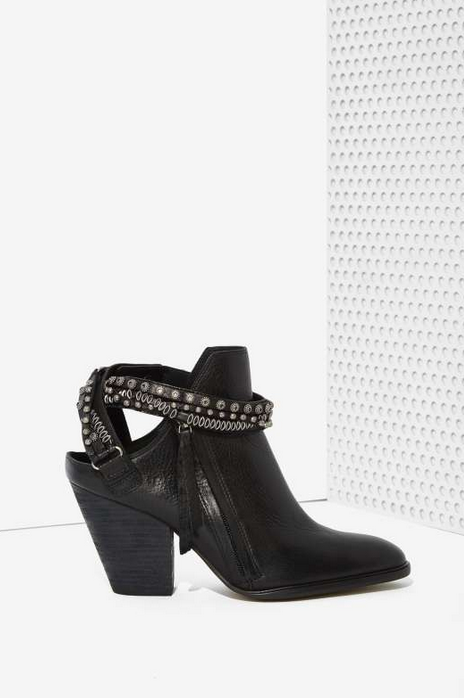 Dolce Vita booties at Nasty Gal ($260.00) click through to picture source: NastyGal