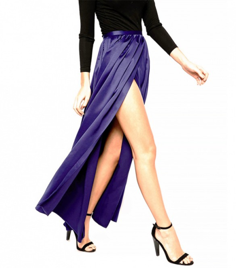 ASOS Maxi Skirt, Photo Courtesy of WhoWhatWear. Click through to original post.
