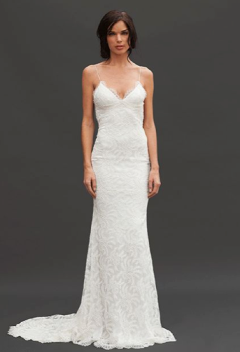 Princeville Gown, available at Katie May. Featured on Refinery 29