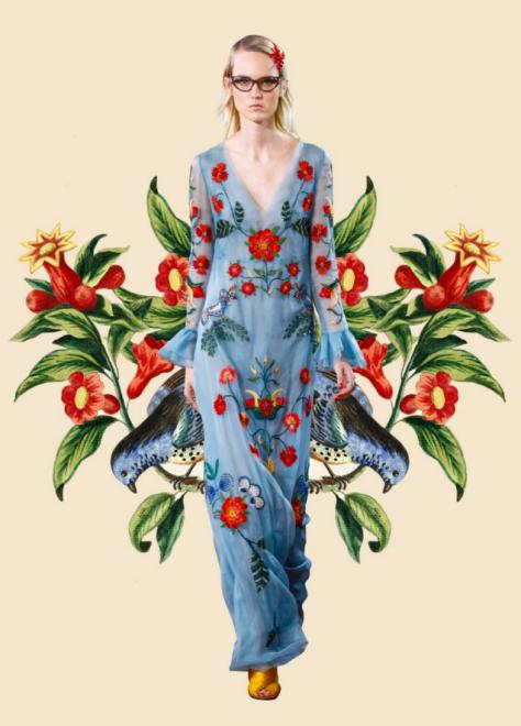 Fashion Artwork courtesy Miss Moss's Blog