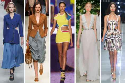 Fendi, Emporio Armani, DSquared2, Laura Biagiotti, and John Richmond Courtesy of Fashionista.com