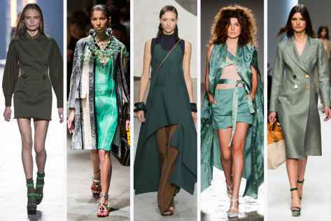 Versace, Prada, Marni, Sergei Grinko, and Ermanno Scervino Courtesy of Fashionista.com