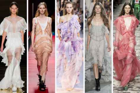 Francesco Scognamiglio, No. 21, Roberto Cavalli, Philosophy di Lorenzo Serafini, and Gucci Courtesy of Fashionista.com