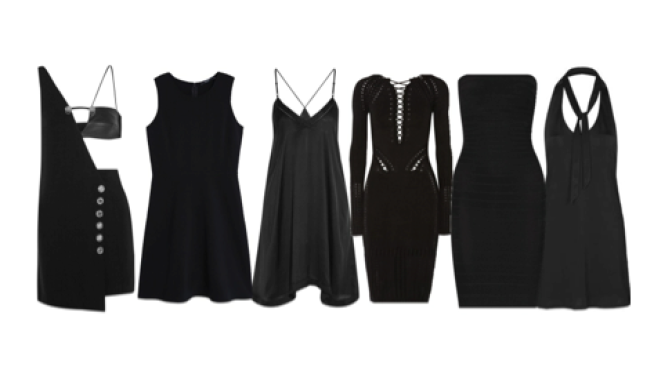 Find the Perfect Black Dress for the Holidays